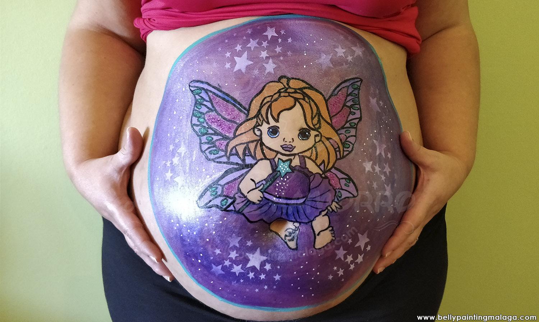 Belly Painting Fantasía